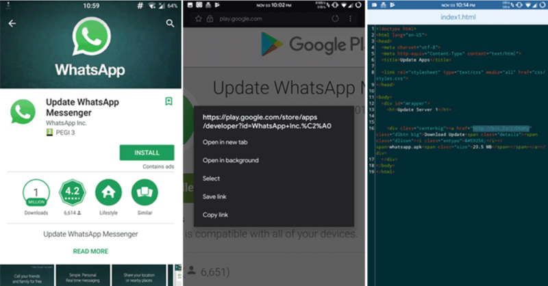 App falsa de WhatsApp Business aparece en Google Play