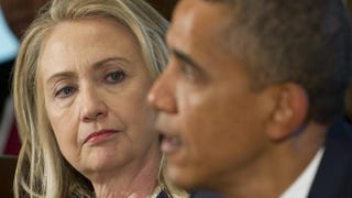 Hillary Clinton and President Barack ObamaSaul Loeb/Getty Images
