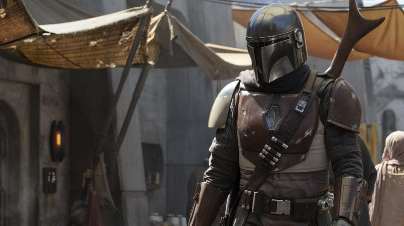 A crop of the first image from The Mandalorian.