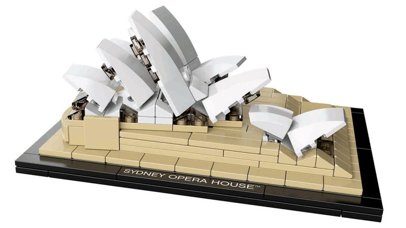 Illustration for article titled Sydney Opera House Is Our New Favorite Lego Architecture Set