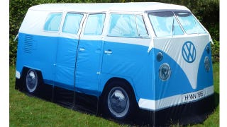 Illustration for article titled This VW Tent Costs More Than an Actual VW Van