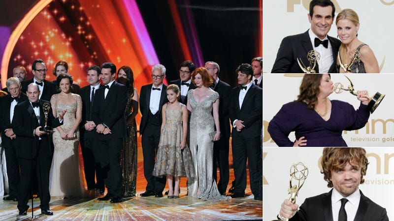 Illustration for article titled Your Complete List Of 2011 Emmy Winners