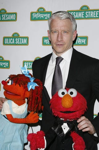 Illustration for article titled Anderson Cooper, Muppets, Take Manhattan