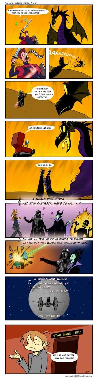 Illustration for article titled I love a good villain.