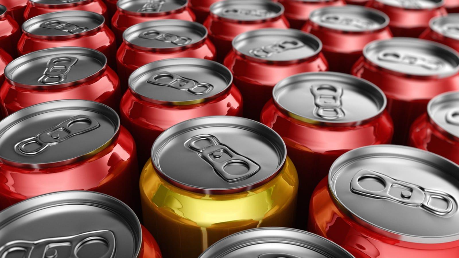 Por qué cada lata de refresco es una cuidada obra maestra de ingeniería