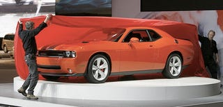 Illustration for article titled 2009 Dodge Challenger Production Details Emerge, You Want A Shaker Hood With That?