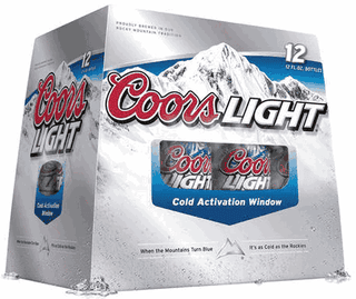 Illustration for article titled Coors Light Invents Cold Activation Window: Cancer Cured, World Peace Ensues