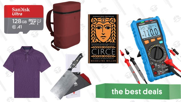 Sunday s Best Deals: Cooler Backpacks, SanDisk MicroSDs, New York Times Best-Sellers, and More