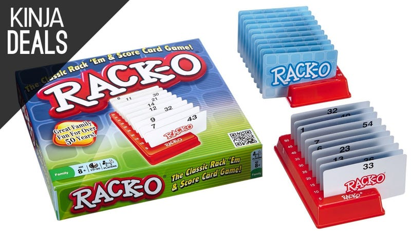 Illustration for article titled Add Rack-O To Your Board Game Rotation For $9 [Sold Out]
