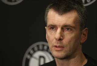 Illustration for article titled Report: Mikhail Prokhorov Is Trying To Sell The Nets