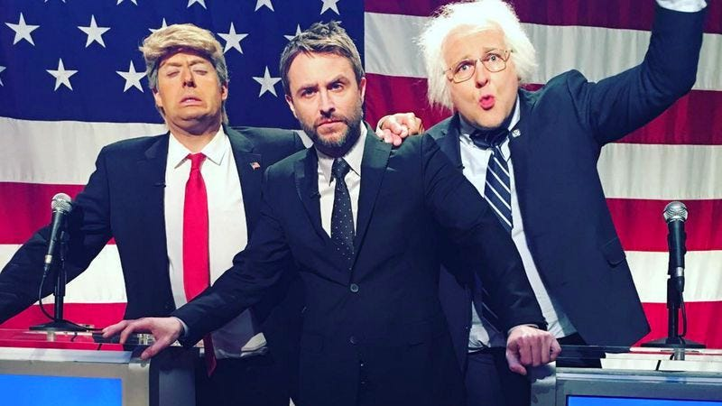 From left: Anthony Atamanuik, Chris Hardwick, and James Adomian (Photo: Comedy Central)