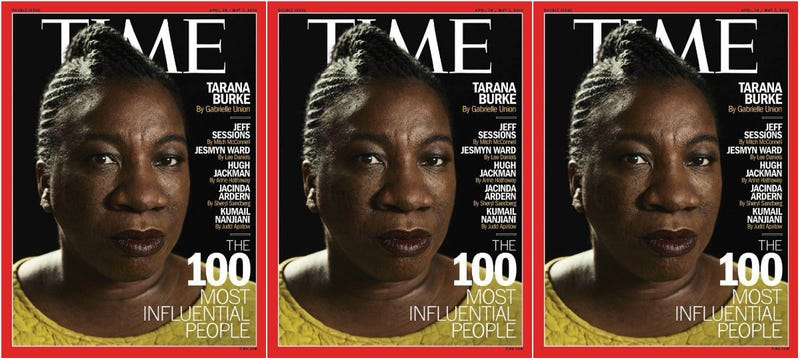 Illustration for article titled This Time, Time Got It Right: Tarana Burke Covers the 100 Most Influential People Issue