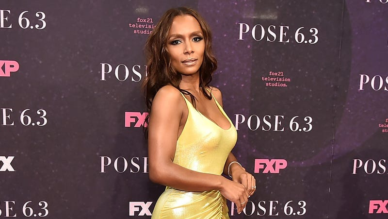 Janet Mock attends the 'Pose' New York Premiere at Hammerstein Ballroom on May 17, 2018 in New York City.