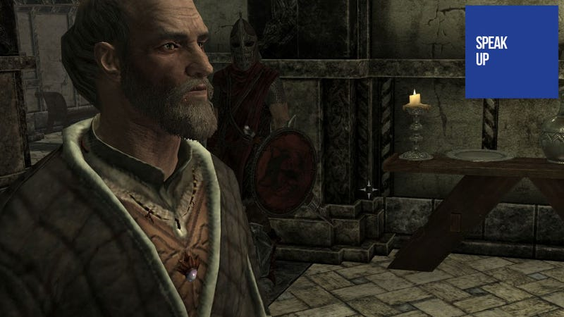 Illustration for article titled Skyrim is Filled with Memorable Characters, Like That One Guy
