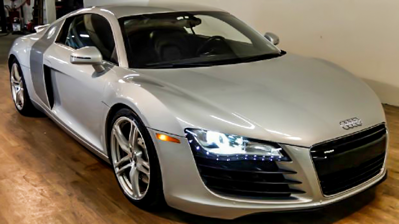Forget The BMW M6 - This Twin Turbo Audi R8 Is Way Faster And Way Cheaper