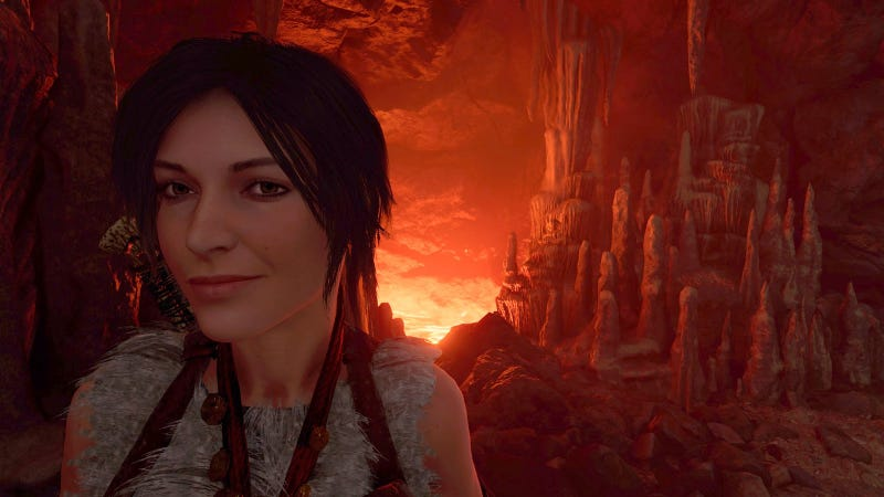 Illustration for article titled Shadow Of The Tomb Raider's New Tomb Is As Awkward As The Rest Of The Game