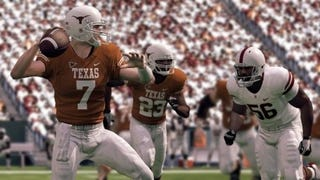 Illustration for article titled NCAA 11 Demo Screens: Texas and Oklahoma