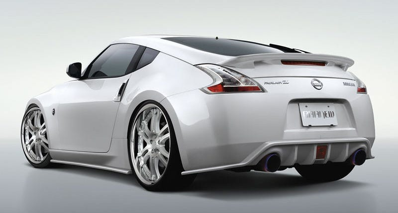 Illustration for article titled Nice 370z Plate