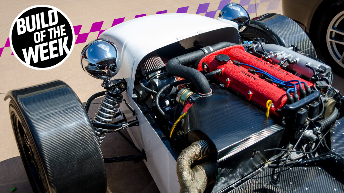 This Turbo Miata-Powered Lotus Replica Started With a Haynes