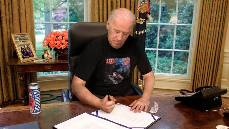 Illustration for article titled Biden Forges President's Signature On Executive Order To Make December Dokken History Month