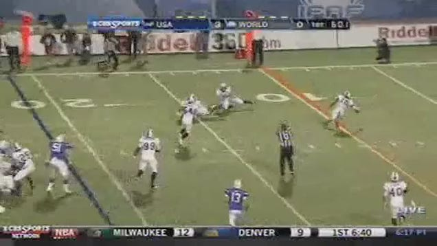 One-Handed Safety Makes One-Handed Interception