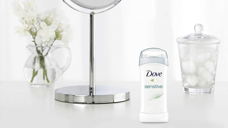 Dove Antiperspirant Deodorant (Sensitive Skin) 6-Pack | $11 | Amazon | Clip the coupon on page