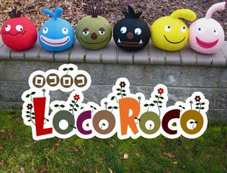 Illustration for article titled These LocoRoco Plushies Are Adorable, Handmade