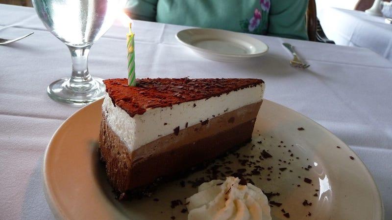 Free birthday treats at restaurants