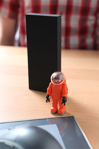 Illustration for article titled 2001: A Space Odyssey Monolith Action Figure Will Leave Your Other Toys in Cosmic Awe