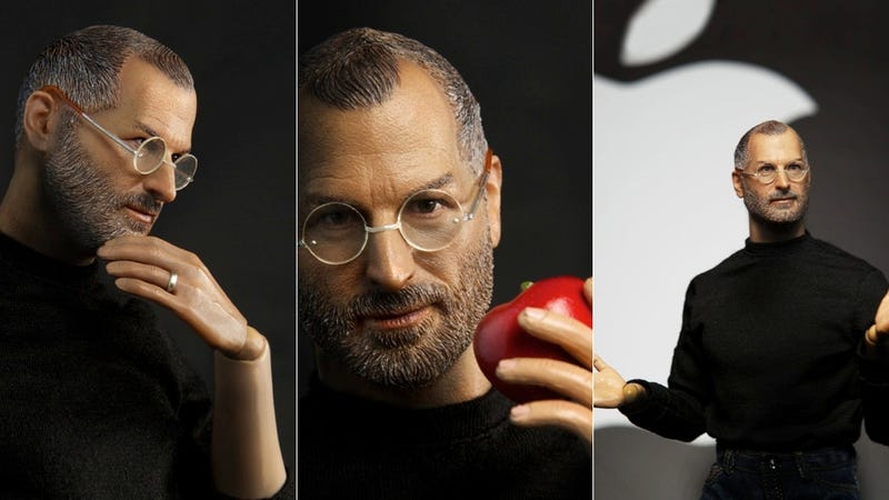 Illustration for article titled The Latest Steve Jobs Action Figure Is a Horrifying Mutant