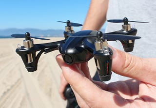 Illustration for article titled Drone Wars: Get 53% off the Limited Edition Black Aerial Drone + Camera