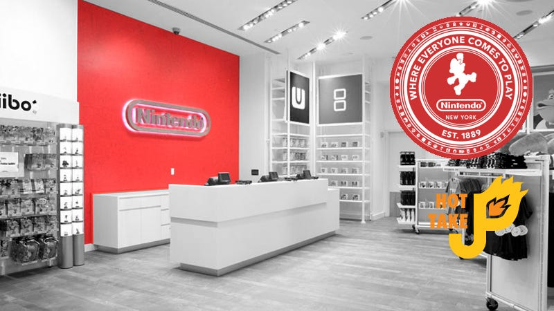 Illustration for article titled Hot Take: Nintendo Store NYC
