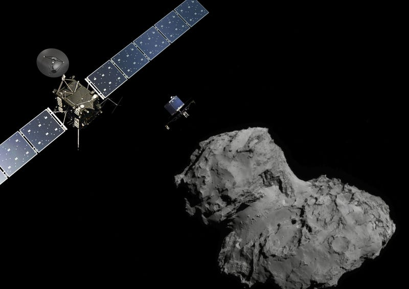 Illustration for article titled Comet Orbiter Rosetta's Dramatic Finale Will Leave You Misty Eyed