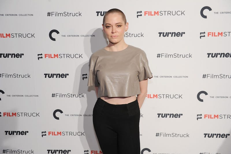 Rose McGowan calls on Hollywood to be courageous