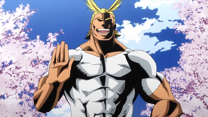 All-Might requires no thanks!