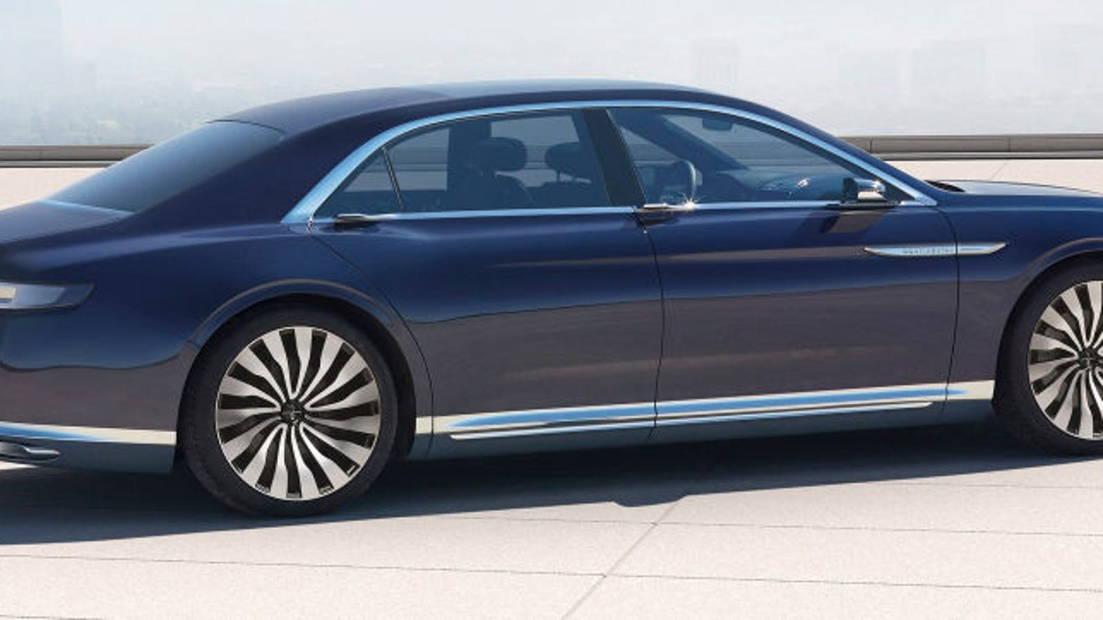 The New Lincoln Continental Is Eughhhhhh