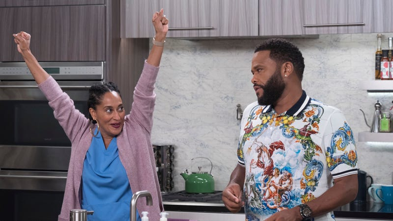 Tracee Ellis Ross and Anthony Anderson, Black-ish