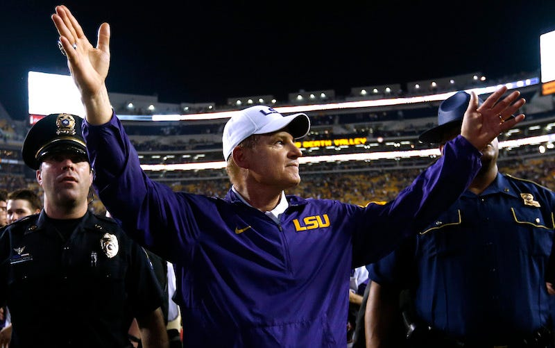 Illustration for article titled Report: LSU Came Close To Replacing Les Miles With Jimbo Fisher