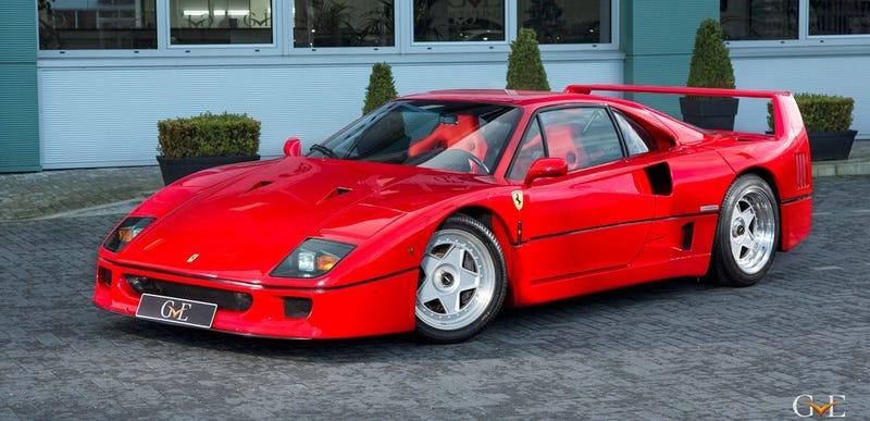 Eric Clapton's Ferrari F40 Is Actually A Damn Good Deal