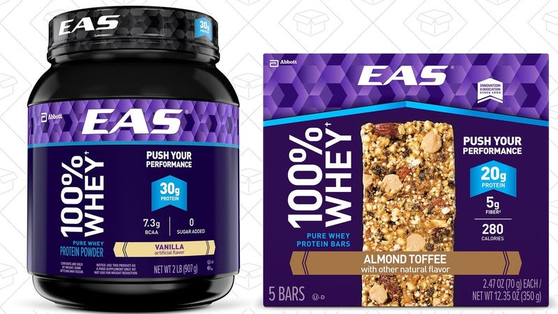25% off EAS 100% Whey Products