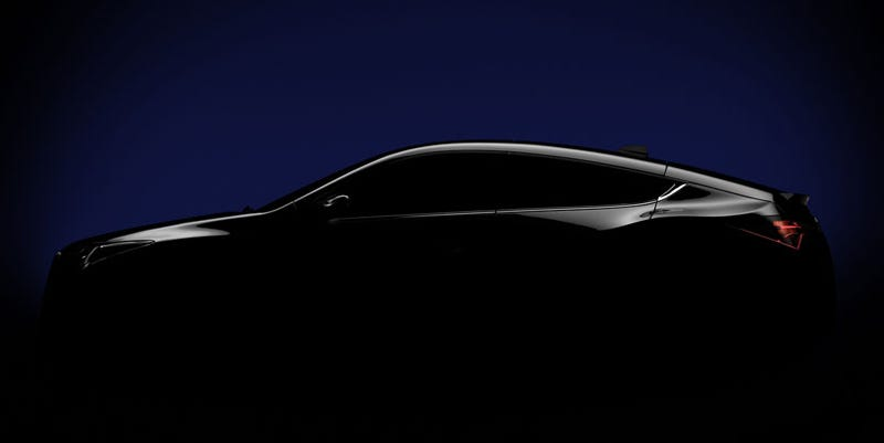 Illustration for article titled Acura ZDX: The Z Is For Luxury Four-Door Sports Coupe