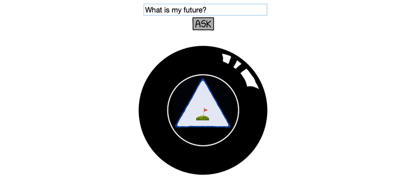 Illustration for article titled This 8 Ball Predicts Your Future in Emojii