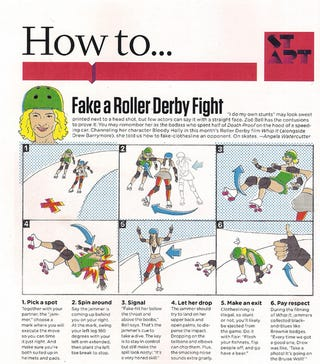 Illustration for article titled Lessons From A Stuntwoman (Do Not Try This At Home)