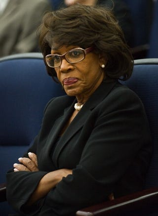 Rep. Maxine Waters wants her name cleared.