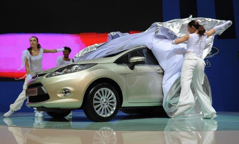 Illustration for article titled Ford Fiesta Sedan, Revealed