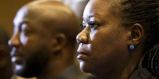 Trayvon Martin's parents, Sybrina Fulton and Tracy Martin (Getty Images)