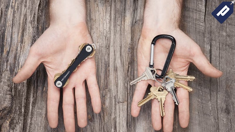 Illustration for article titled Ditch Your Bulky Keyring For KeySmart, Now Just $15.99