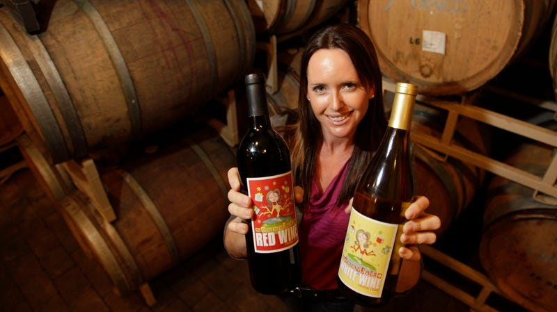 Cheryl Durzy, founder of MommyJuice Wines.