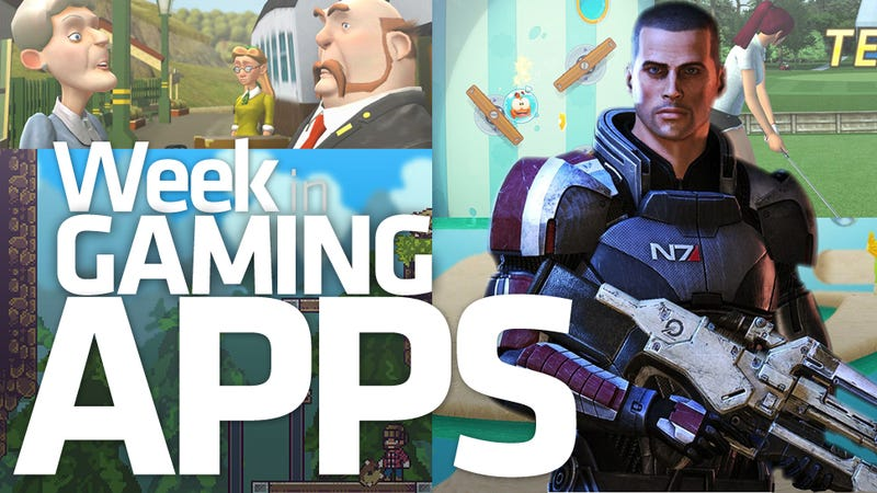 Illustration for article titled This Week in Gaming Apps Has Nothing to Do With Mass... Dammit, Shepard!