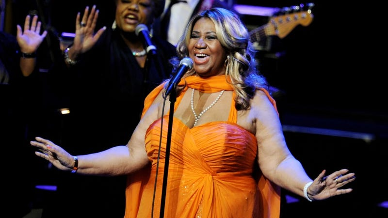 Illustration for article titled Aretha Franklin's Cool With Jennifer Hudson As Potential Biopic Star